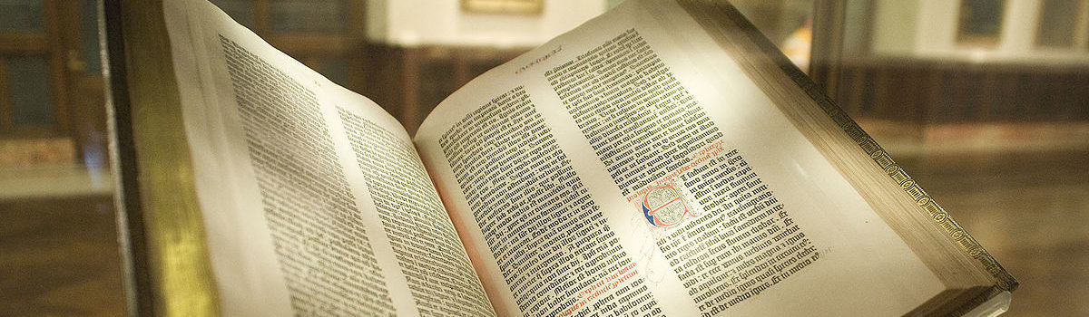 Gutenberg Bible – Wikipedia