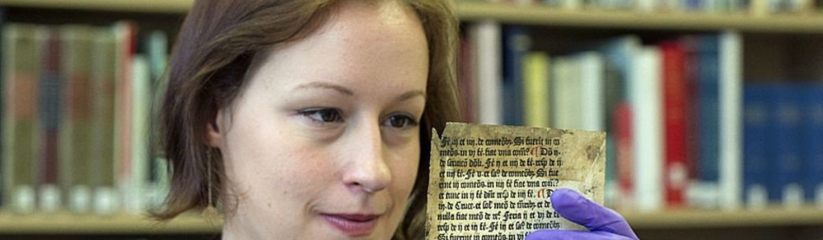 'Incredibly rare' William Caxton print discovered – BBC News