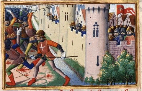 during a skirmish outside the town on 23 May 1430. Alth...