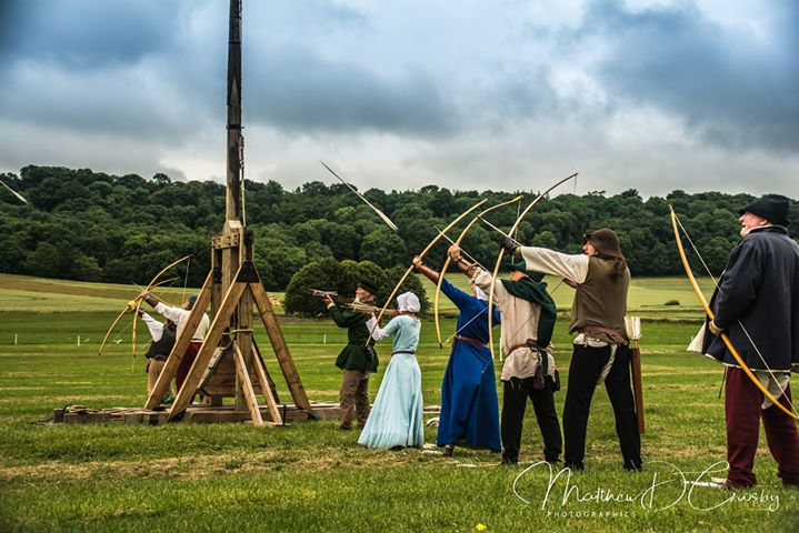 Sherborne Castle and Gardens hosted their Jousting Tour...