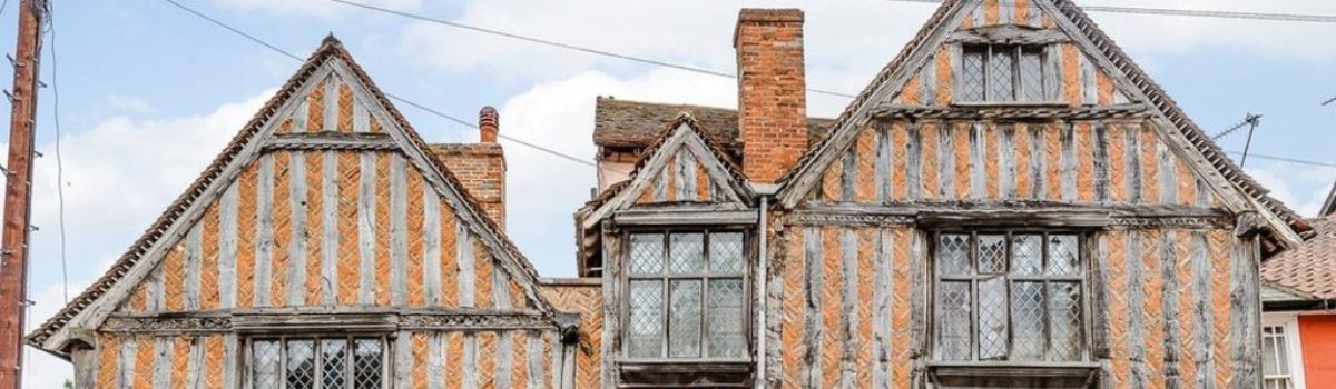 Harry Potter's birthplace in Lavenham listed for sale for almost £1m – BBC News