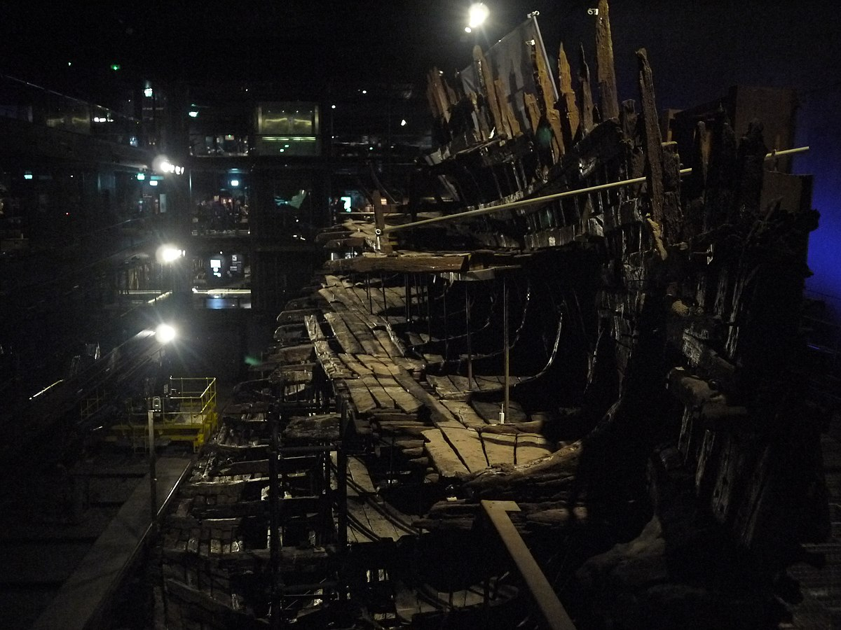 The Mary Rose is a carrack-type warship of the English ...