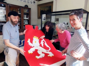 Twice as many Wars of the Roses heraldic banners will b...